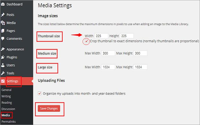 Raising image quality in WordPress