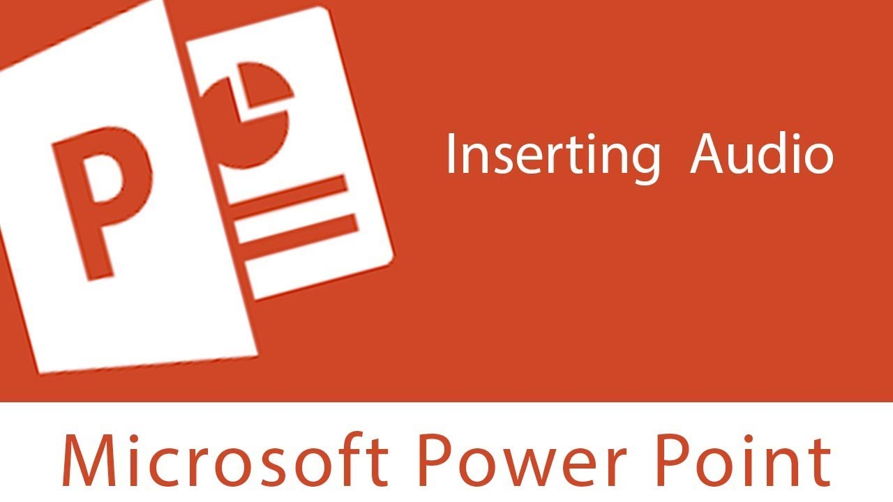 Add Audio to Your PowerPoint